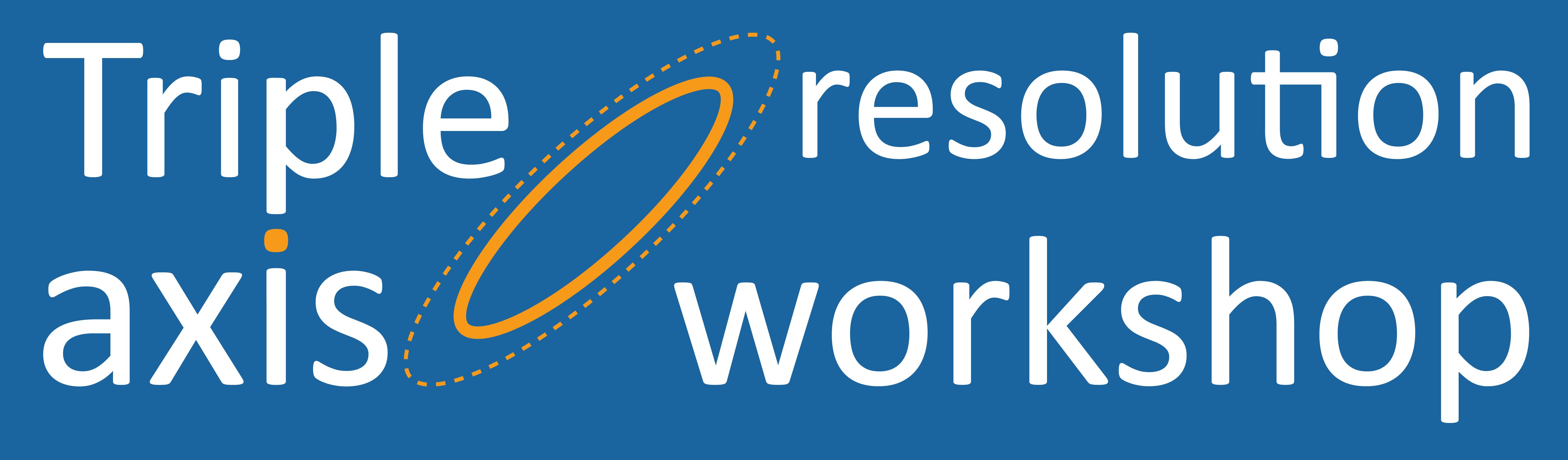 Quantum phenomena group: Triple axis resolution workshop